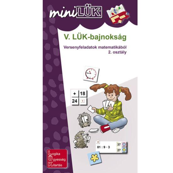 Mini LÜK füzet - V. LÜK - Bajnokság matematika 2. osztály