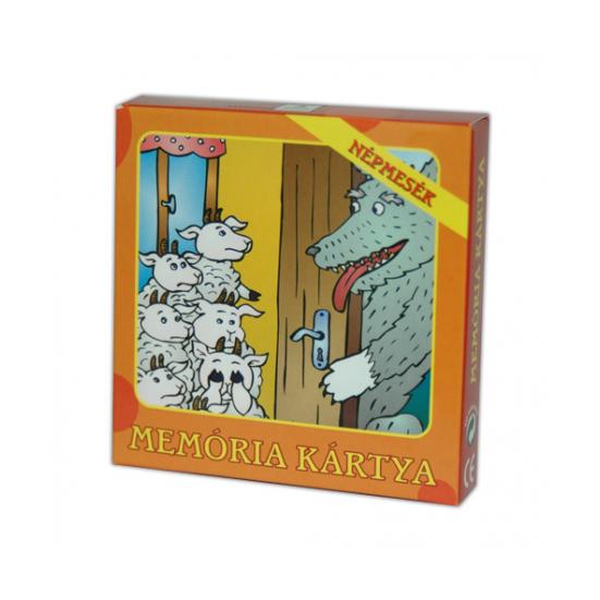 Memória Kártya - Népmesék