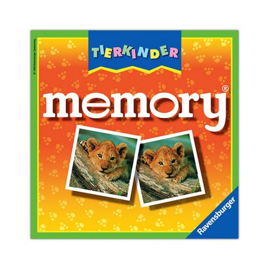 Memória játék - állatkölykök