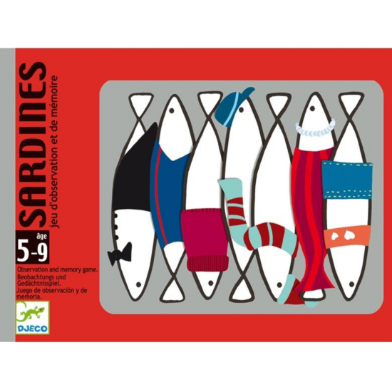 Szardíniák - kártyajáték