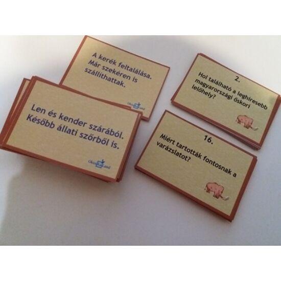Tanulókártya - Történelem -  Őskor
