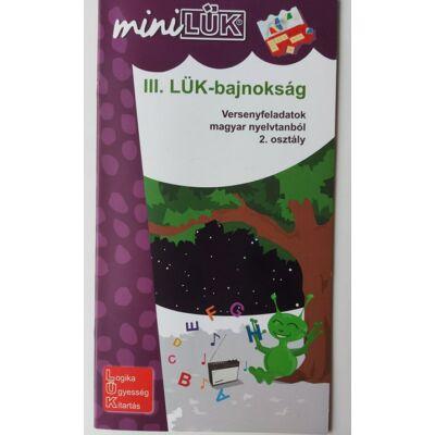 Mini Lük füzet - LÜK-Bajnokság 2. osztály nyelvtan