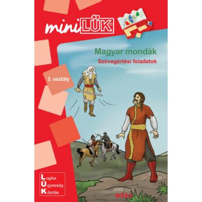 Mini LÜk füzet - Magyar mondák