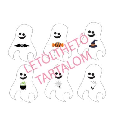 Memóriajáték - Halloween
