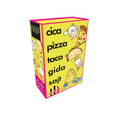 Cica, pizza, taco, gida, sajt - Társasjáték