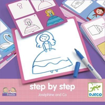 Rajzolás lépésről lépésre - Lányoknak