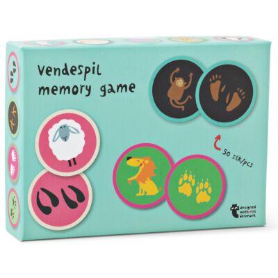 Memóriajáték - állatok és lábnyomaik