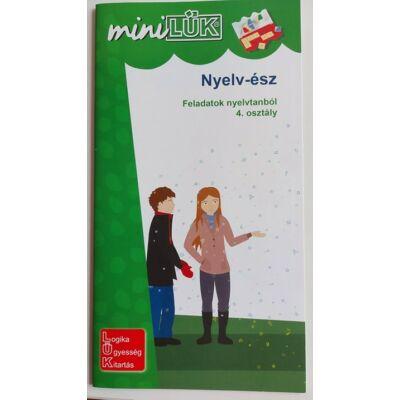 Mini LÜK füzet - Nyelv-ész