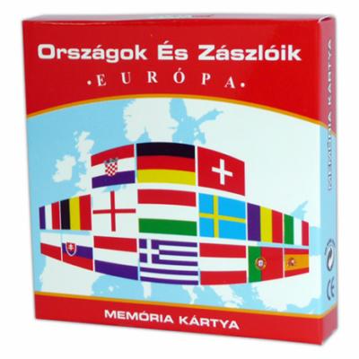 Memória Kártya - Országok és Zászlók