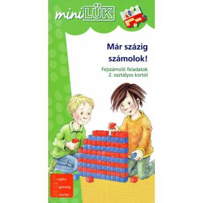 Mini LÜK füzet - Már százig számolok!