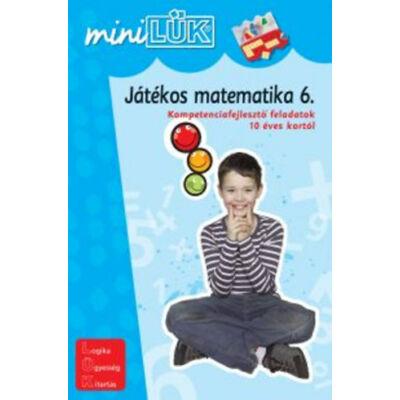 Mini LÜK füzet - Játékos matematika 6.