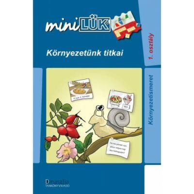 Mini LÜK füzet - Környezetünk titkai - 1. osztály