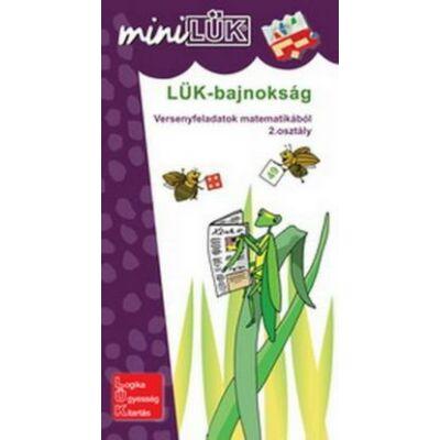 Mini Lük füzet - LÜK-Bajnokság 2. osztály matematika