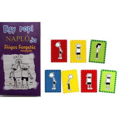 Egy ropi naplója - Flúgos forgatás  kártyajáték