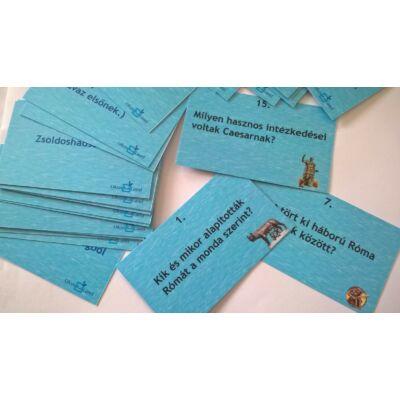Tanulókártya - Történelem - Ókori Róma